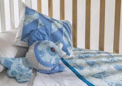 Ropa de Cuna para Bebés y Recién Nacidos en Quilt y Patchwork